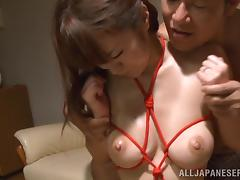 Delicious Kaede Niiyama Goes Hardcore With Two Guys