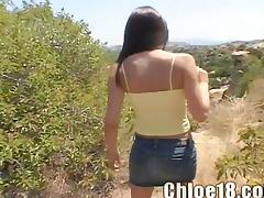 Solo Outdoor Masturbation