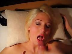 Dirty Talk, Blonde, Dirty Talk, Facial, German, POV