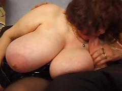 Old, BBW, Big Tits, Boobs, Chubby, Chunky