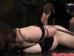 Choking, BDSM, Brunette, Choking, Fetish, Gagging