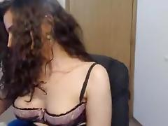 cinnamon gal oil massage on livecam