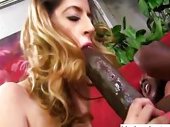 Monster black cock loving white slut