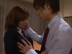 Hardcore teen sex with the beautiful Rin Sakuragi