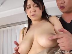 Maid, Asian, Big Tits, Boobs, Couple, Cumshot