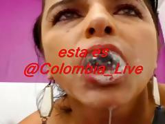 Zorra Colombiana de 40 anos se moja por maltratando su conjo