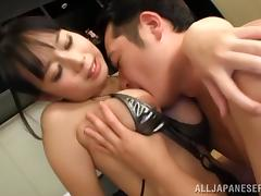Curvy Asian Doll With Big Tits In Bikini Gets Screwed Missionary