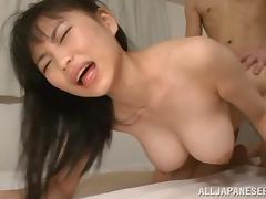 Sexy Japanese Girl Enjoying A Hardcore Doggy Style Fuck In Her Bedroom