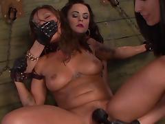 Wild sensations for filthy lesbian sluts