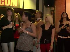 Drunk party animals in a naughty and hot public banging