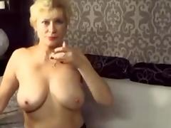 Estonian, Amateur, Clit, Fingering, Granny, Masturbation