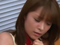 Mihiro Asian doll is the presidents secretary and enjoys sex
