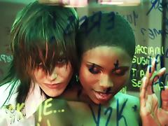 The L Word: Unknown Black Woman, Katherine Moennig, Shahi