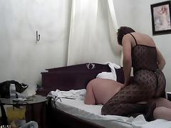 Homemade strapon sex 2