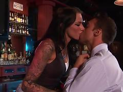 Bar, Banging, Bar, Big Tits, Blowjob, Brunette