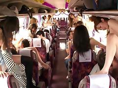 Bus, Asian, Bus, Cumshot, Group, Japanese