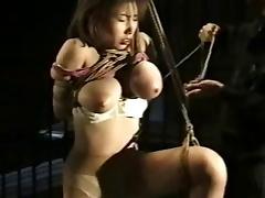 Big Japanese boobs bound