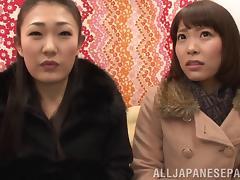 Japanese Lesbian, Asian, Bra, Cunt, Fingering, Hairy