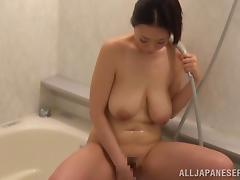 Hardcore cock-riding action with big-breasted Japanese Nachi Kurosawa