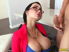 CFNM, Big Tits, Blowjob, Boobs, CFNM, Couple