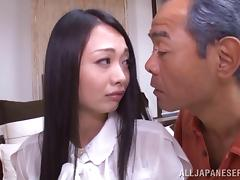 Alluring japanese mature lady with big boobs enjoys steamy hot banging