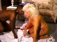 Black Cock Whore in Bondage