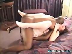 Whore Enjoying Big Black Cock