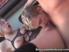 BisexualsHardcore Video: Roxy Taggart