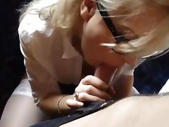 Blonde Hooker Suck, Fuck Facial