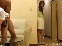 Petite, Asian, CFNM, Cute, Doggystyle, Japanese
