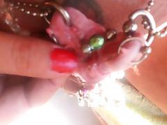 Castrated sissy s split clit 3