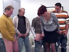 Mom and Boy, Anal, Gangbang, Mature, Old, Older