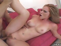 Raunchy mature babe loves to ride on a thick cock