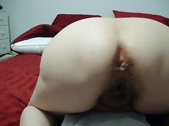 Wife anal creampie