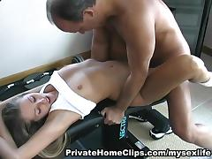 Gym, Angry, Blowjob, Boots, Full Movie, Gym