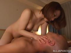 Petite, Asian, Blowjob, Couple, Cowgirl, Cute