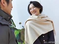 Japanese Mature, Asian, Drilled, Fingering, Horny, Japanese