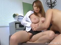 Office, Asian, Big Tits, Boobs, Chubby, Cougar
