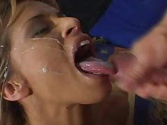 Devon Michaels enjoys doggystyle sex after giving a hot blowjob