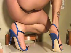 Feet off my wife shoeplay